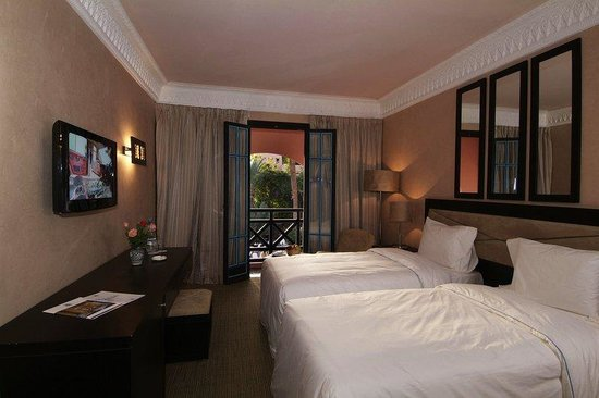 Hotel Marrakech le Tichka: Chambre Twin