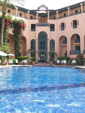 Hotel Marrakech le Tichka: Piscine