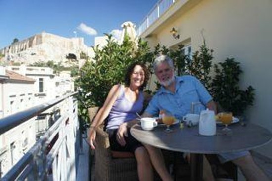AVA Hotel Athens: Breakfast on the Terrace room 301