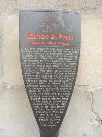 Musee de Cluny - Musee National du Moyen Age: L'histoire de L'Hôtel des Abbés de Cluny