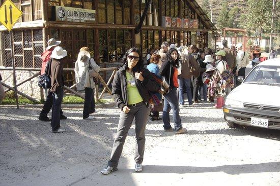Casa Andina Standard Cusco San Blas: Na estação de trem de Cusco a Macho picho! Paisagens incríveis durante a viagem!