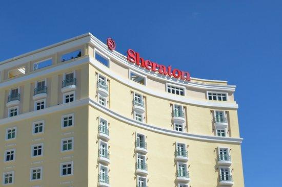 Sheraton Old San Juan Hotel : FACHADA DEL HOTEL TERRAZA