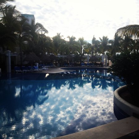Hotel Riu Emerald Bay : Good morning paradise