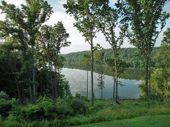 Salt Fork Lodge and Conference Center: View From Our Balcony