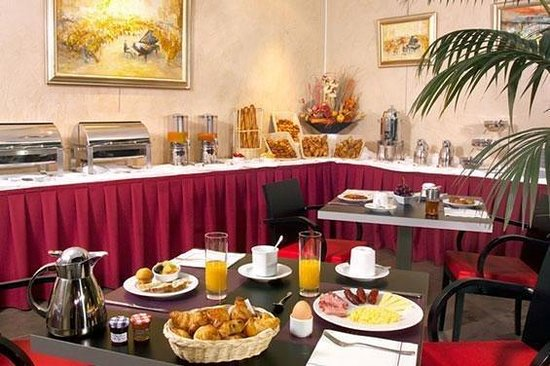 Appart'City Confort Lyon Part-Dieu : Buffet