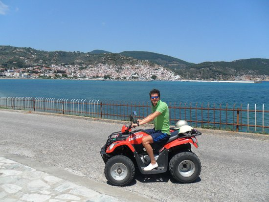 Skopelos Village: Quad time!
