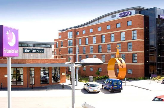 Premier Inn Wolverhampton City Centre Hotel: Exterior