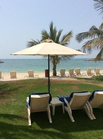 Hilton Ras Al Khaimah Resort & Spa : view from villa