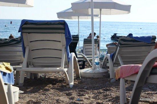 Meryan Hotel: Море