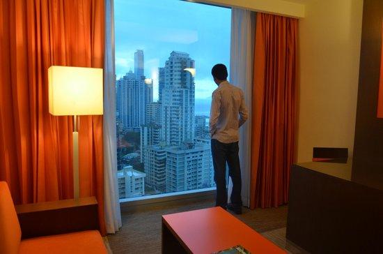 Hotel Riu Plaza Panama : VISTA DESDE LA HABITACIÓN