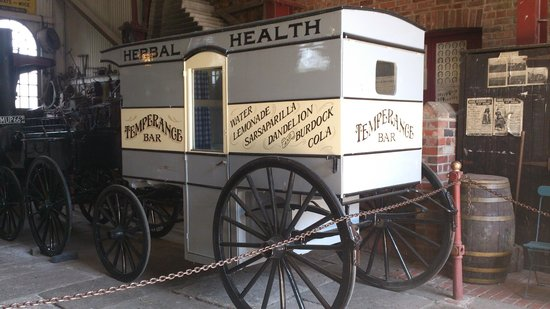 Beamish Museum: Carriage for health