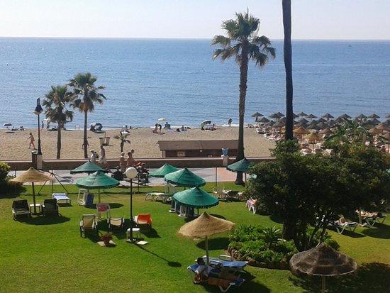 La Barracuda Hotel : vistas desde la habitación