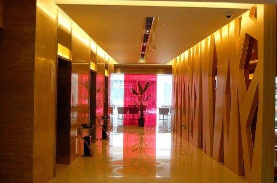 Holiday Inn Express Sanlin Shanghai: Elevator Lobby
