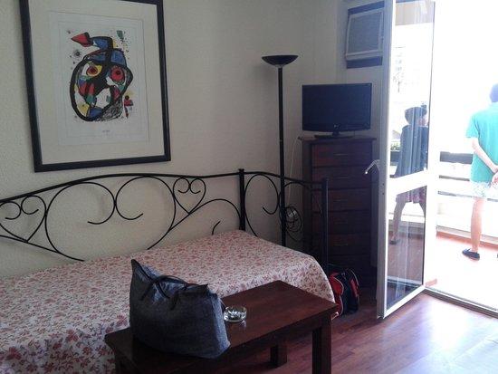 La Barracuda Hotel : habitación