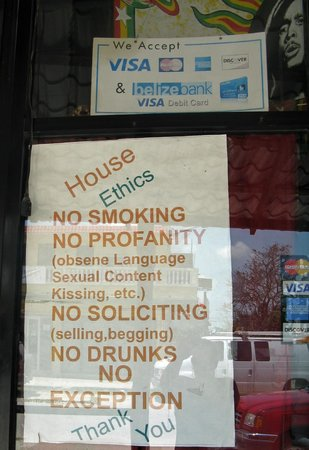 RD's Diner: House Rules