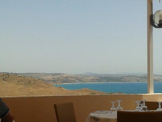 Torre del Barone Club: vista dalla terrazza ristorante