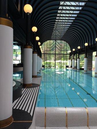 Victoria Jungfrau Grand Hotel & Spa: Piscine