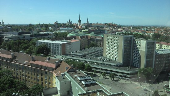 Radisson Blu Sky Hotel: The view from the room