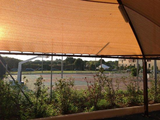Aldemar Olympian Village: The basketball court