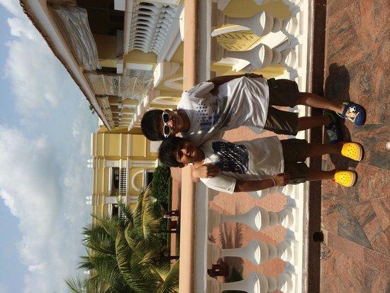 The LaLiT Golf & Spa Resort Goa : Aaditya And Mehul Enjoying