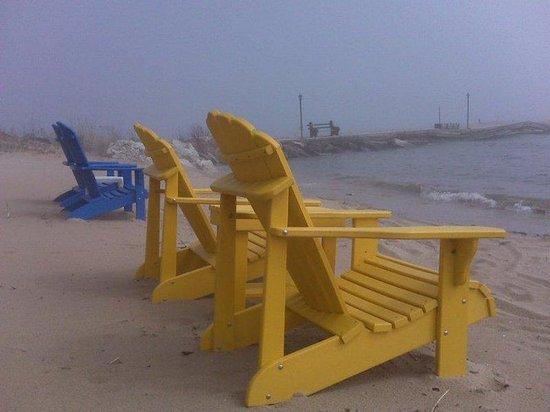 Beachfront Inn: Beach Chairs