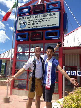 Niagara Helicopters Limited: Flying high with diversity - Mr. Gay Canada + Mr. Gay World
