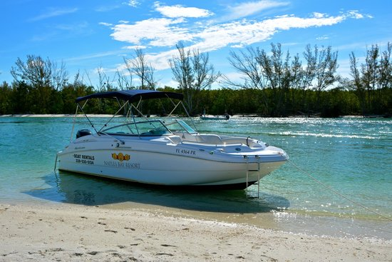 Naples Bay Resort: Pristine boats