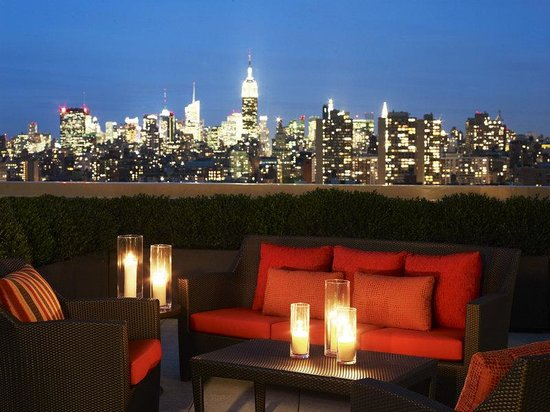 Sheraton Tribeca New York Hotel: Club Lounge