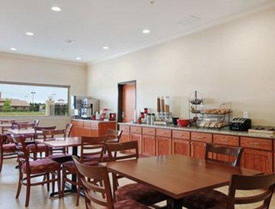Ramada College Station : Breakfast Area