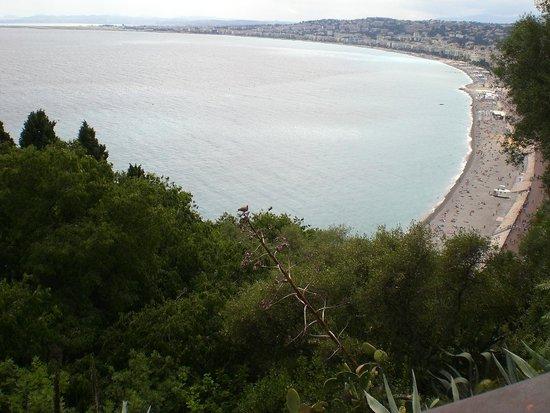 Colina del Castillo: Море пляж