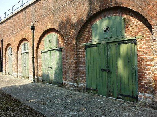 Fort Brockhurst: the storages