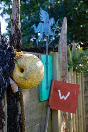 B&B De Postoari Terschelling: Hottub in de tuin