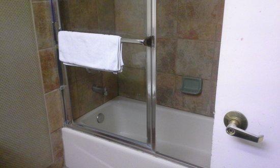 Luxor Hotel & Casino: our bathroom