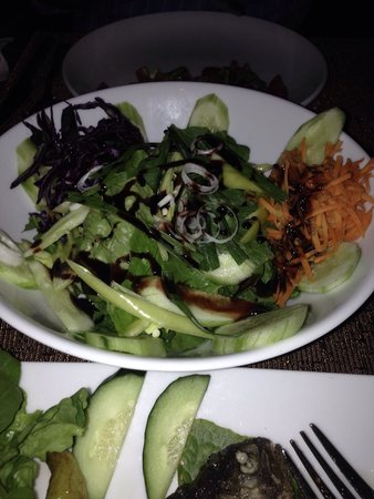 Village Cafe & Restaurant: Delicious Green Salad.