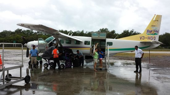 Chabil Mar: Departing Placencia Airport