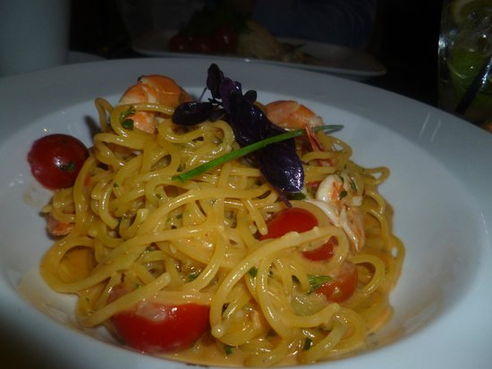 Caffe Concerto : seafood pasta