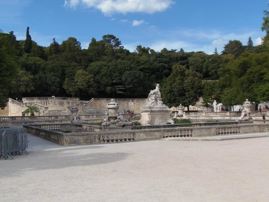 Jardins de la Fontaine : jardin de la fontaine