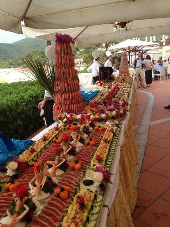 Hotel Del Golfo : Cena spettacolare