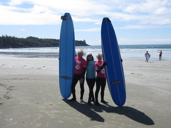 Surf Sister Surf School: Avant de se mouiller