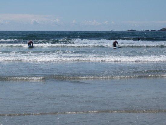 Surf Sister Surf School: En action!