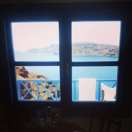 Esperas : view from inside to the outside
