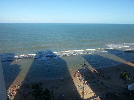 Golden Tulip Recife Boa Viagem : Vista da  frente do 12 andar Praia de Boa Viagem