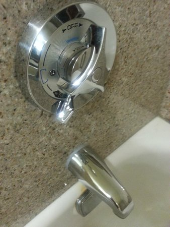 Best Western Plus Hotel & Conference Center: broken shower handle