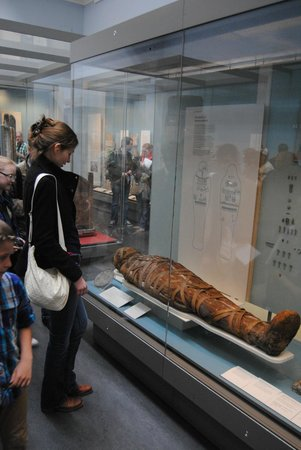 British Museum : The mummy