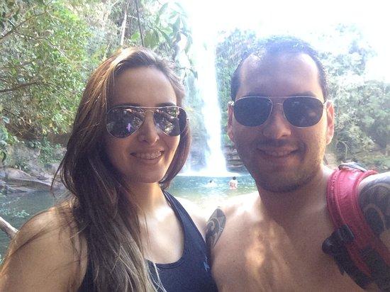 Abade Waterfall: Cachoeira em boa companhia!