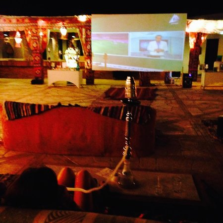 Mercure Hurghada Hotel : Shisha and tv