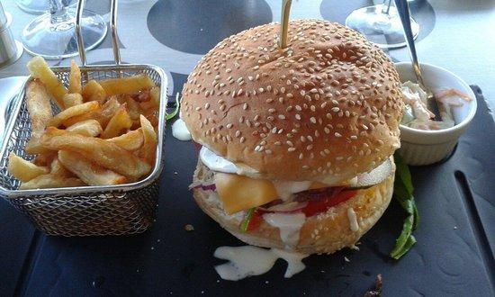 Le Quai: Hamburger du quai