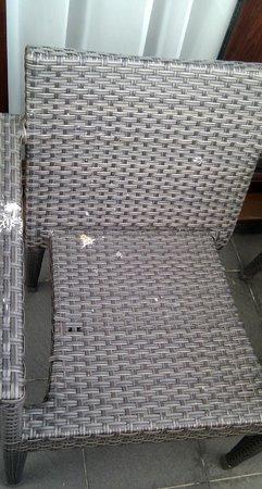 De Vere Wokefield Estate: Room E318 dirty chair