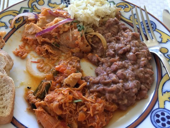 Marquis Los Cabos All-Inclusive Resort & Spa: Chilaquiles and chicken tinga