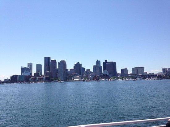 Boston Harbor Cruises : Great view